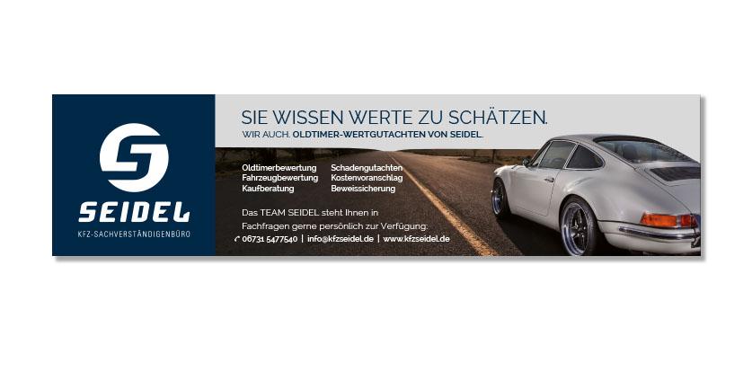 SEIDEL Kfz-Sachverständigenbüro PVC Banner